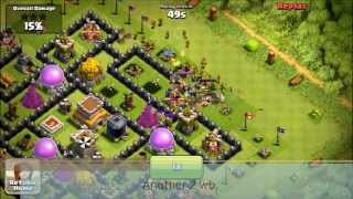 Repeat youtube video [CoC:98th TH8 Def]4 Crystal League Defenses with Modified Ping's Tesla Theme Park :)