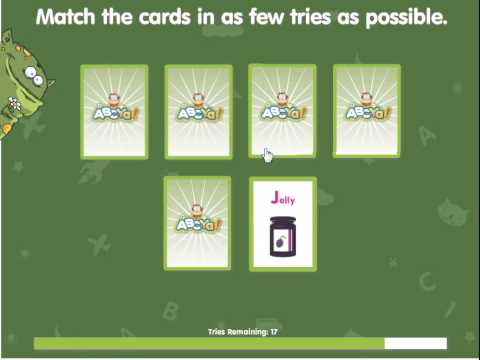 abcya games - alphabet matching - best education game for children