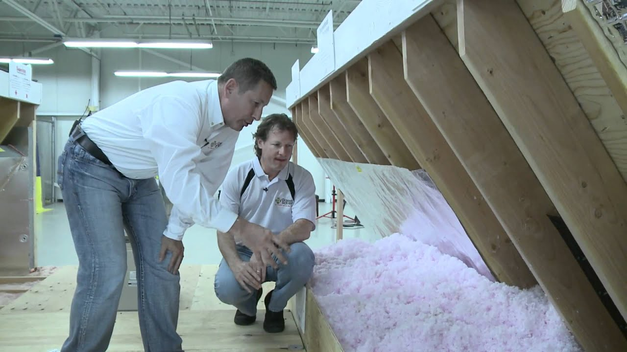 How To Insulate The Attic Air Sealing The Attic Energy