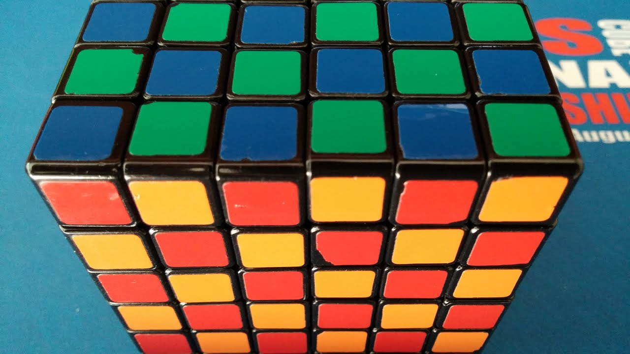 Challenge: Solve a 6x6 Rubik's Cube Into a Checker Pattern