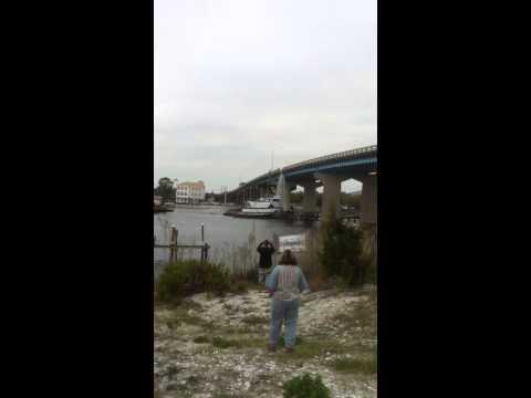 Brooks Bridge Tug Boat Barge Collision