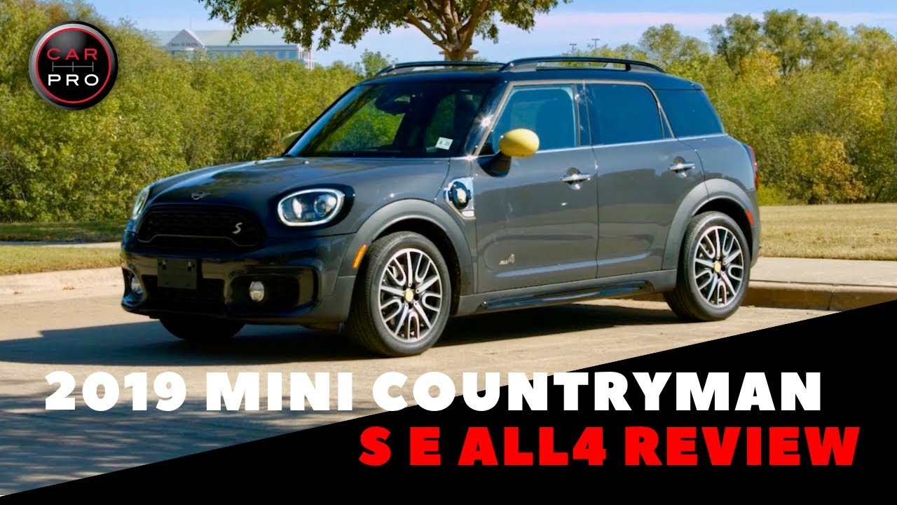2019 Mini Cooper S E Countryman All 4 Plug In Hybrid Youtube