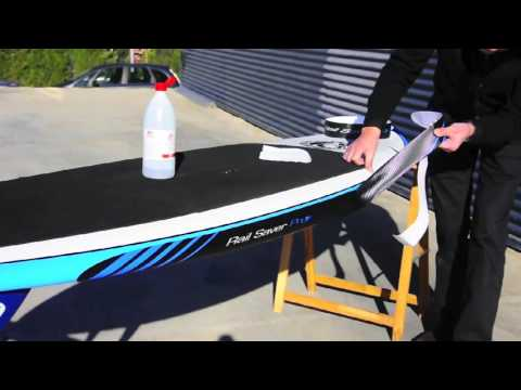 RSPro SUP rail protection installation HD-surfshop.fr
