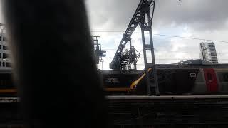 Class 221 leaving Leeds