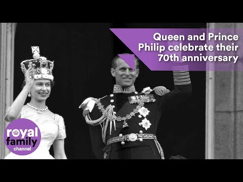 Queen And Prince Philip Celebrate Their 70th Anniversary