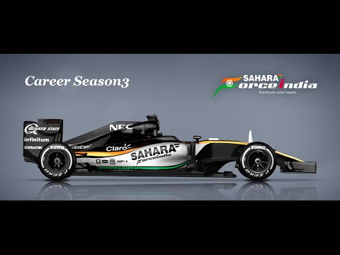 F1 2016 / Career Mode / Legend Ai / Force India S3 / R3 Shanghai  2016 09 17