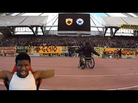 THEY ARE CRAZY | AEK ATHENS ULTRAS BEST MOMENTS REACTION!!!