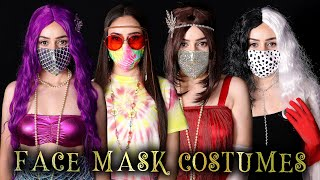 9 EASY FACE MASK HALLOWEEN COSTUME IDEAS Lucykiins