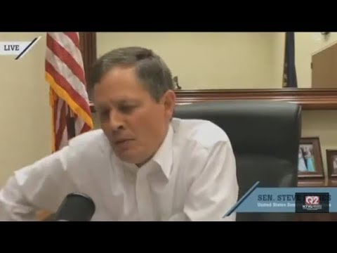 U.S. Sen. Steve Daines, R-Mont., held a tele town hall Wednesday, Sept. 13.