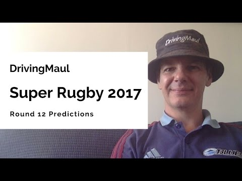 Super Rugby 2017 Round 12 Predictions