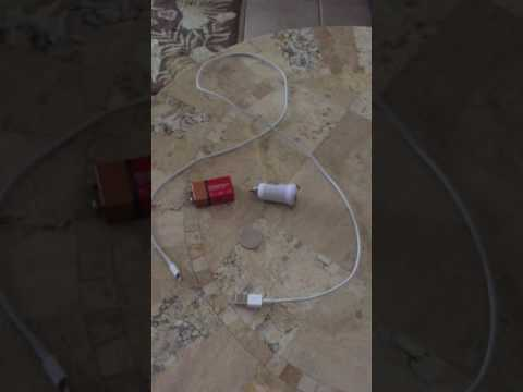 How to charge your cell phone, if you lose power during a hurricane or earthquake!