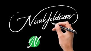 Start with N The Best Signature Examples  How to create my Autograph A to Z?
