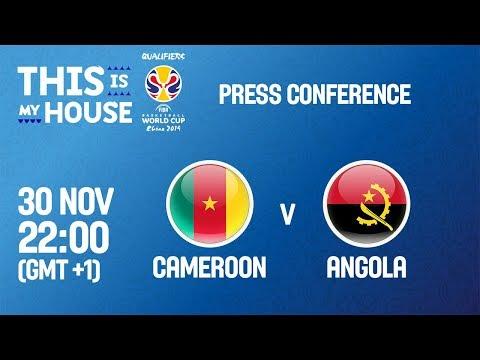 Cameroon v Angola - Press Conference