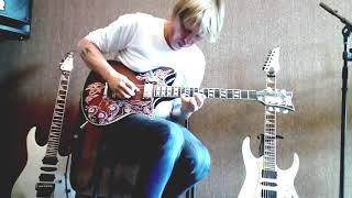 Ария - Улица роз ( гитарное соло )Холстинин - Маврин моя версия