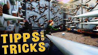 GEHEIME FALLEN TRICKS! - Tipps und Tricks mit Fixx! - Fortnite Battle Royale!