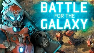 Battle for The Galaxy Full Gameplay Walkthrough