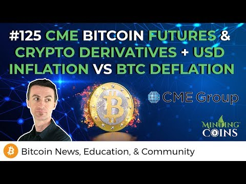 #125 CME Bitcoin Futures & Crypto Derivatives + USD Inflation vs BTC Deflation