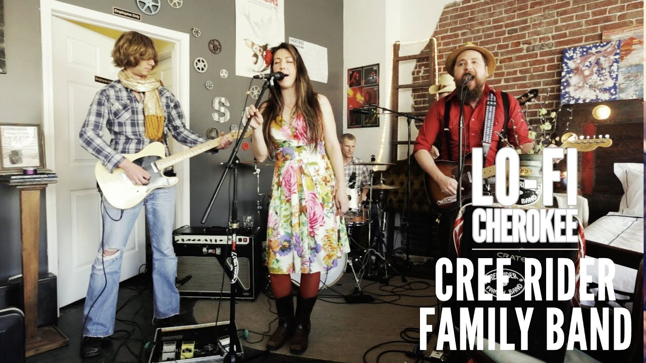 """Cree Rider Family Band - """"Straight From the Bottle"""""""