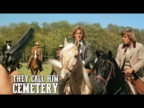 They Call Him Cemetery   Spaghetti Western Movie   Wild West   Full Length   English