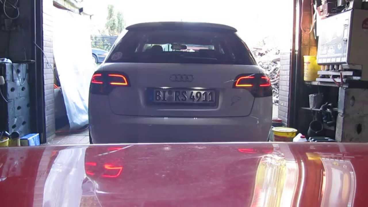 Audi A4 B7 8E AVANT LED DECTANE LITEC 2013 - YouTube