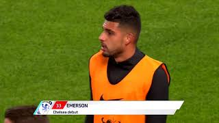 Emerson Palmieri Chelsea Full Debut
