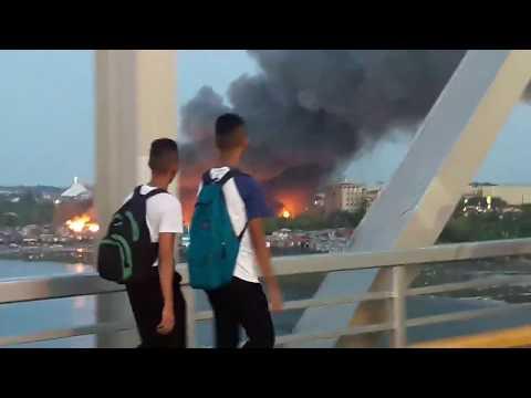 LAPU- LAPU CITY FIRE INCIDENT! @ SITIO PARADISE Unahan sa Gaisano Mactan Island Mall # 1