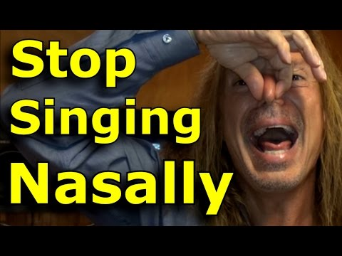 Singing Tips - Fix Nasal Voice - Improve Vocal Tone -  Ken Tamplin Vocal Academy vocal warm up