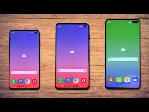 Samsung Galaxy S10 и S10+ ЗДЕСЬ!!! Слиты ЛУЧШИЕ фото НОВЫХ ГЭЛЭКСИ со всех углов!