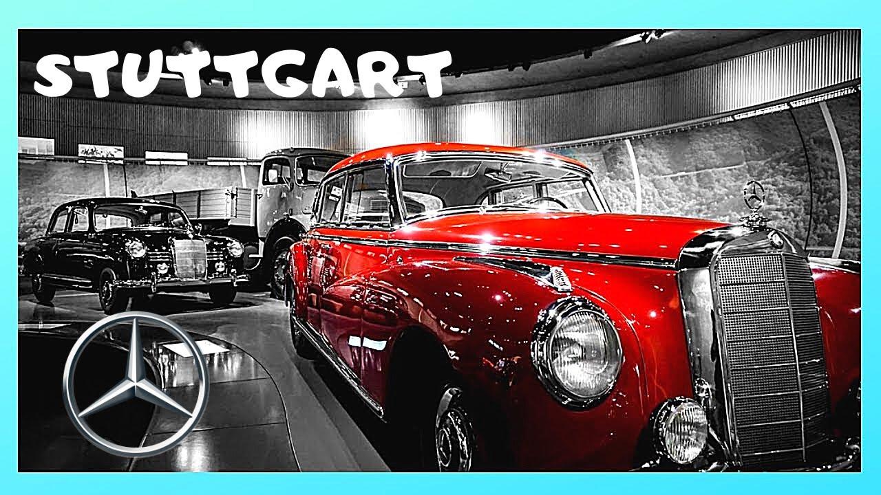 STUTTGART: Classic Mercedes cars at the MERCEDES-BENZ MUSEUM ...