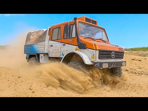 Mercedes vs FORD - Racing, Crawling and Extreme OFF Raod 4x4