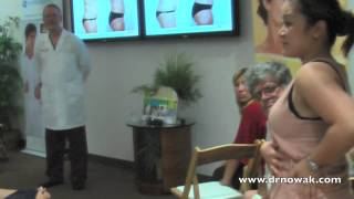Jeannette patient of Dr. Nowak giving a Thermalipo testimonial