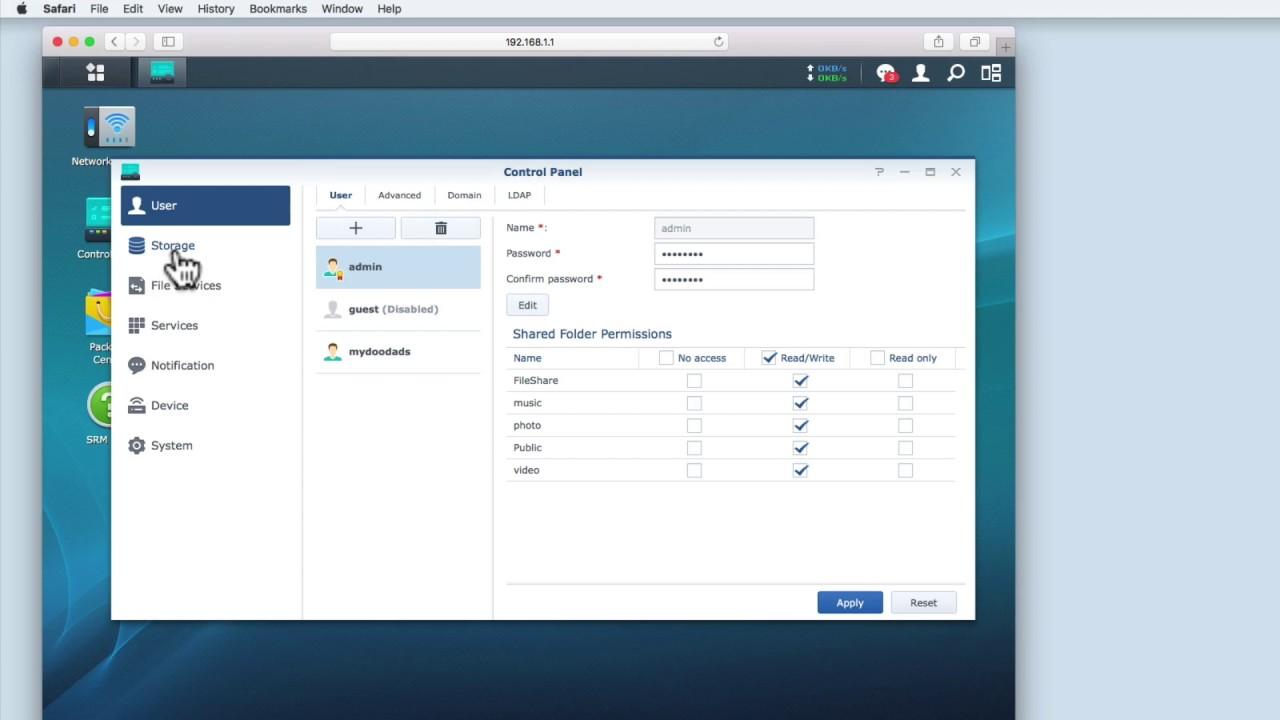 How to use a Synology Router as a media server