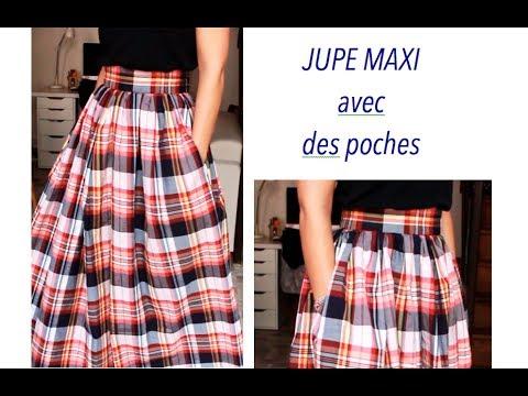 0f1fcee833c652 Tuto couture : une maxi skirt sans patron✨ Marion Blush