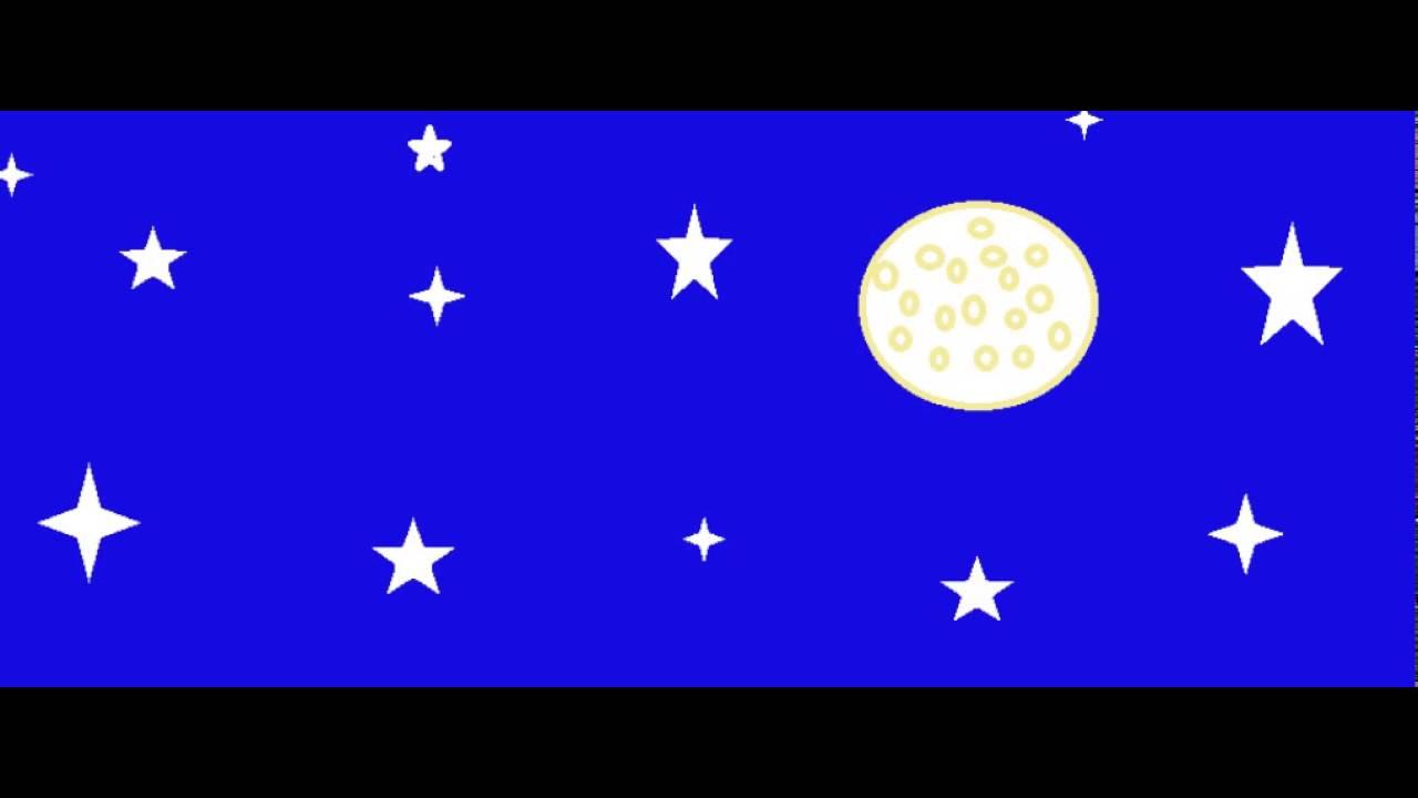 Dibujo De El Cielo De Noche Youtube