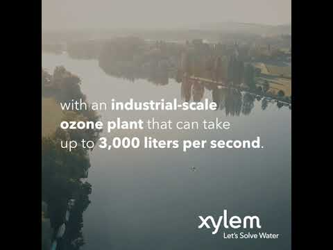 Xylem Innovation  with WVER, Germany Xylem solutions at work for wastewater. #letssolvewater.