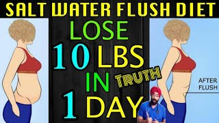Science of FAD diets S1E3 : SALT WATER FLUSH 🤔 | TRUTH  |Dr.Education (Eng)