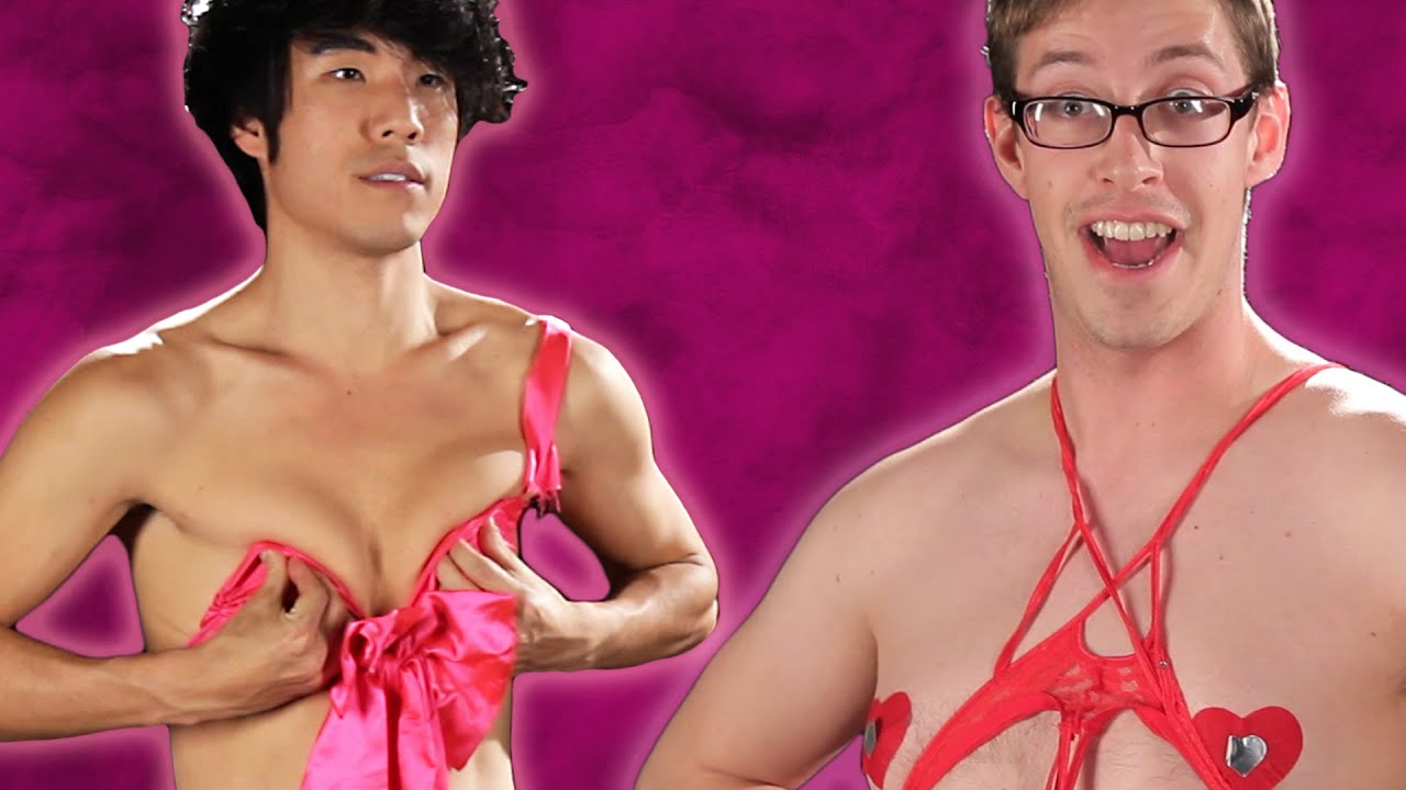 the try guys try valentines day lingerie youtube - Lingerie For Valentines
