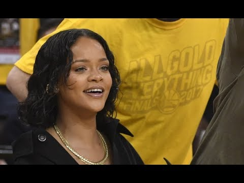 LeBron James' Monster Dunk Ends With Rihanna Distracting Jeff Van Gundy Game 1 NBA Finals