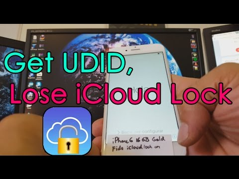 How to get UDID to remove iCloud Lock on all iPhones
