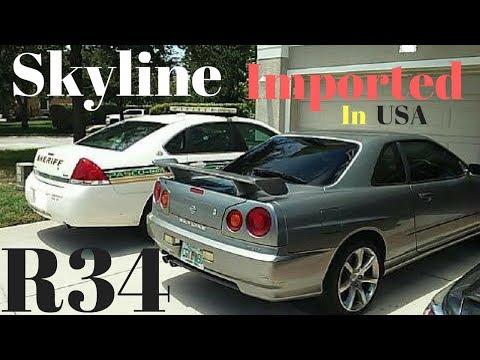 Imported | Skyline R34 GT in America | My Old Skyline R34 2001