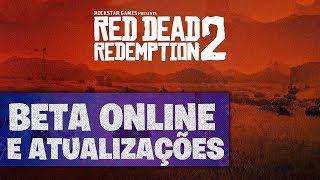 Beta online e vaza mapa impresso de RED DEAD REDEMPTION 2