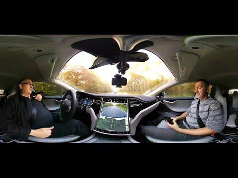 Video en 360° Tesla model S partie 1