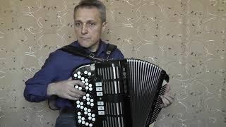 """Klangprobe Knopf - Akkordeon Hohner FORTUNA  """"unter dem Himmel von Paris"""""""