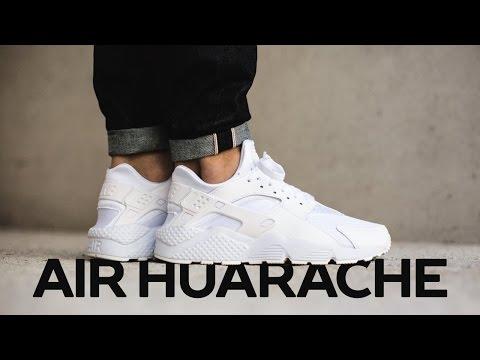 Unboxing и обзор Nike Air Huarache и Huarache Run Ultra