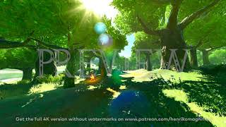 Zelda Breath of the Wild (Forest #1) - 4K 60FPS Looping Background by Henriko Magnifico