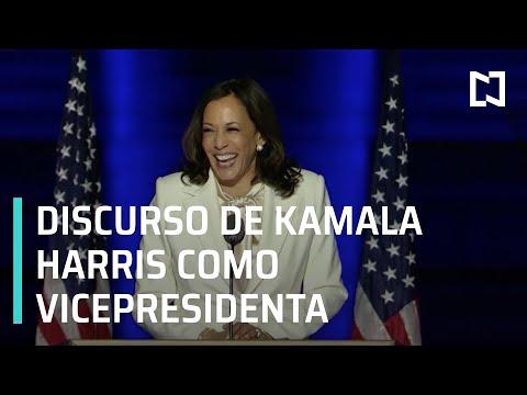 Kamala Harris, primer discurso como vicepresidenta - Las Noticias