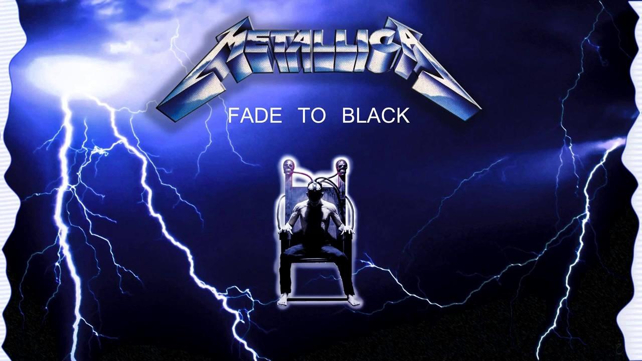 Fade to black metallica picture 9