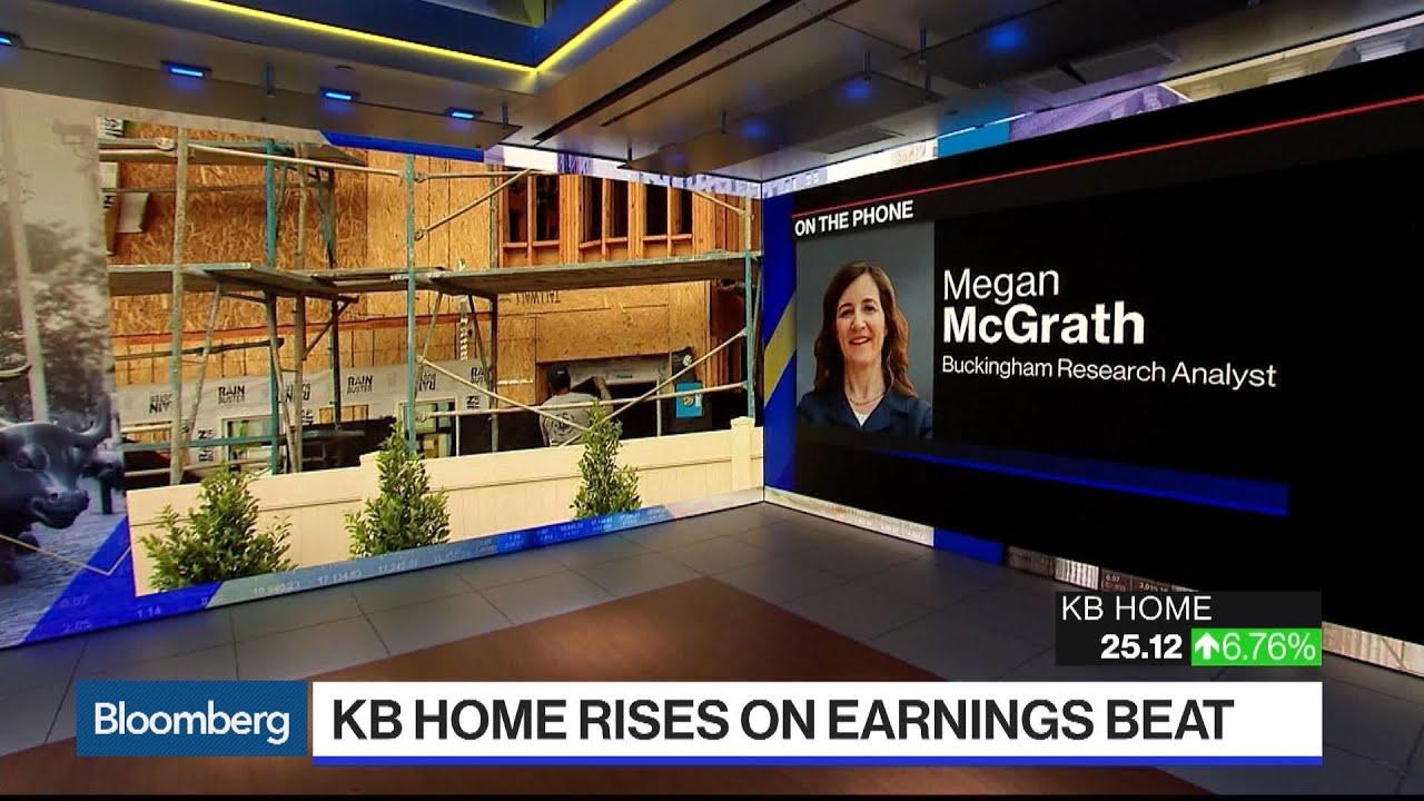 Kb Home Shares Climb As 2q Results Top Estimates