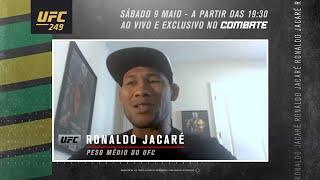 """UFC 249: Ronaldo Jacaré - """"Eu vou surpreender muita gente"""""""