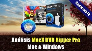 ► MacX DVD Ripper Pro (Convertidor de DVD a MP4, MKV, ISO, AVI, DIVX, etc) #Mac #Windows